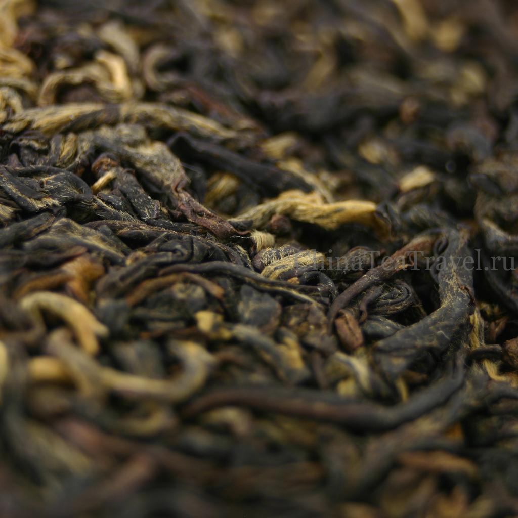 """2 Красный чай """"Солнечный выстрел"""" из Гу Шу сырья. Ailao Gu Shu Sai Hong Spr'18"""