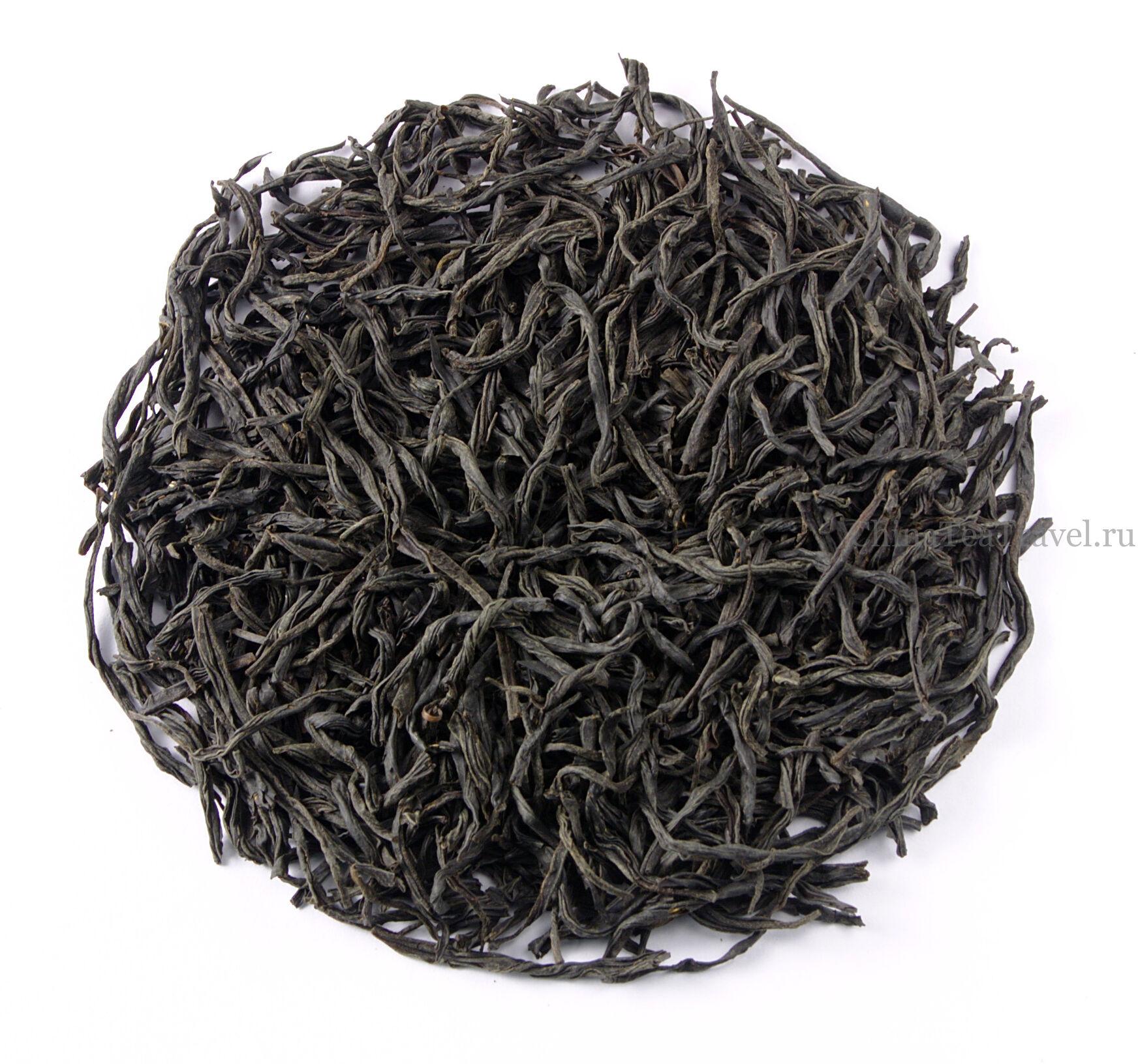 Так выглядит Красный гуандунский чай среднего огня. Yin Jun Mei