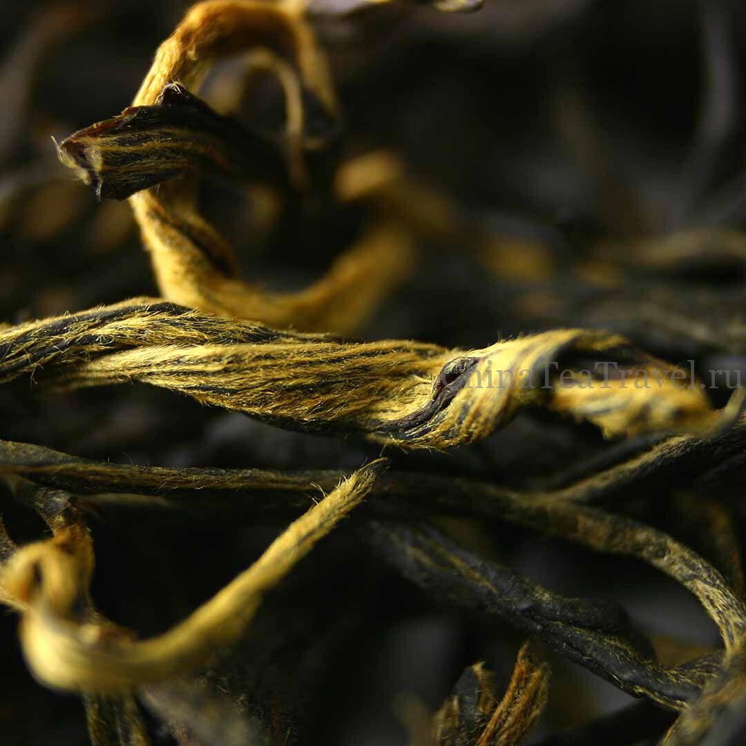 2 Старый красный чай «Лао Хун Ча» с вековых деревьев и кустов. Qian Jia Zhai Lao Da Shu Hong Cha '15Spr. Tea trees&bushes 100 y.o.