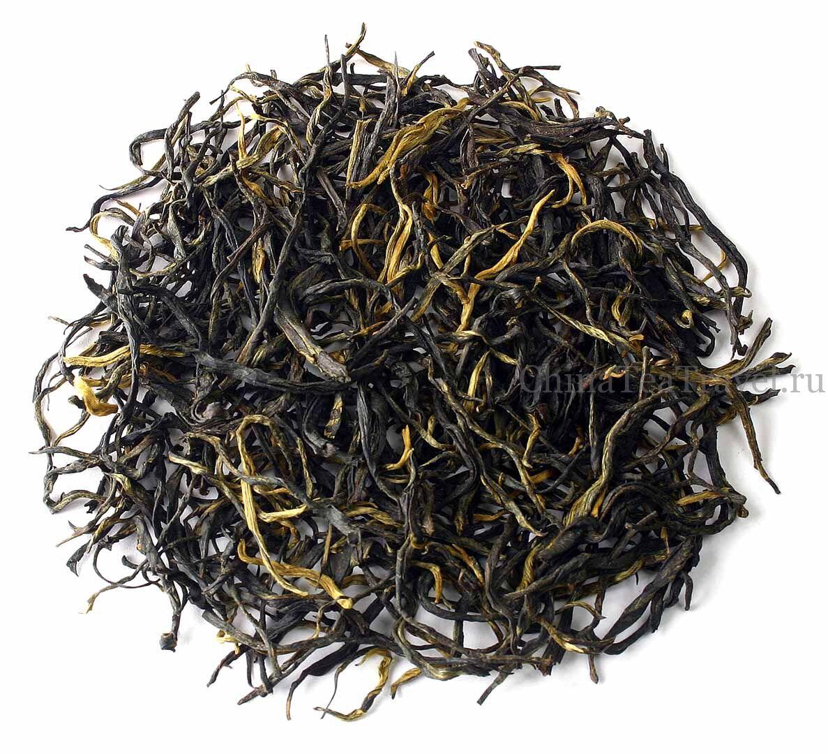 1 Старый красный чай «Лао Хун Ча» с вековых деревьев и кустов. Qian Jia Zhai Lao Da Shu Hong Cha '15Spr. Tea trees&bushes 100 y.o.