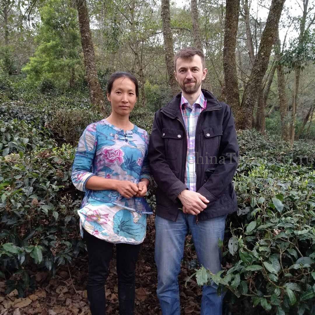 Мастер Сян и Антон в заветном чайном саду