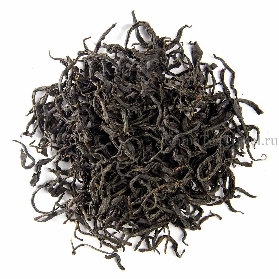 1 Красный чай «Шампанское». Xiang Bin Ye Sheng Hong Cha '19 Spr. Wild tea trees 100-150 y.o.