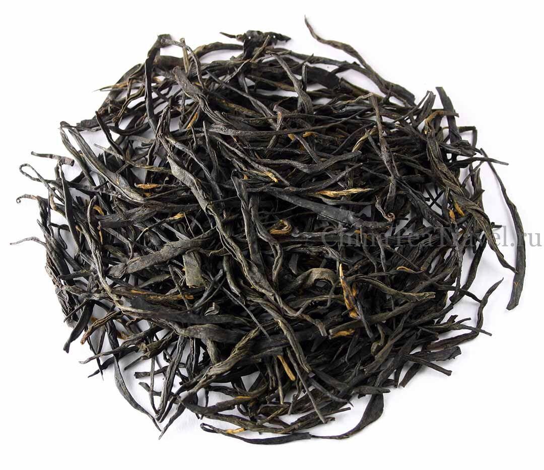1 Красный чай «Змеиная лощина». Baoshan Hong Cha '19 Sum. Tea bushes 70 y.o.