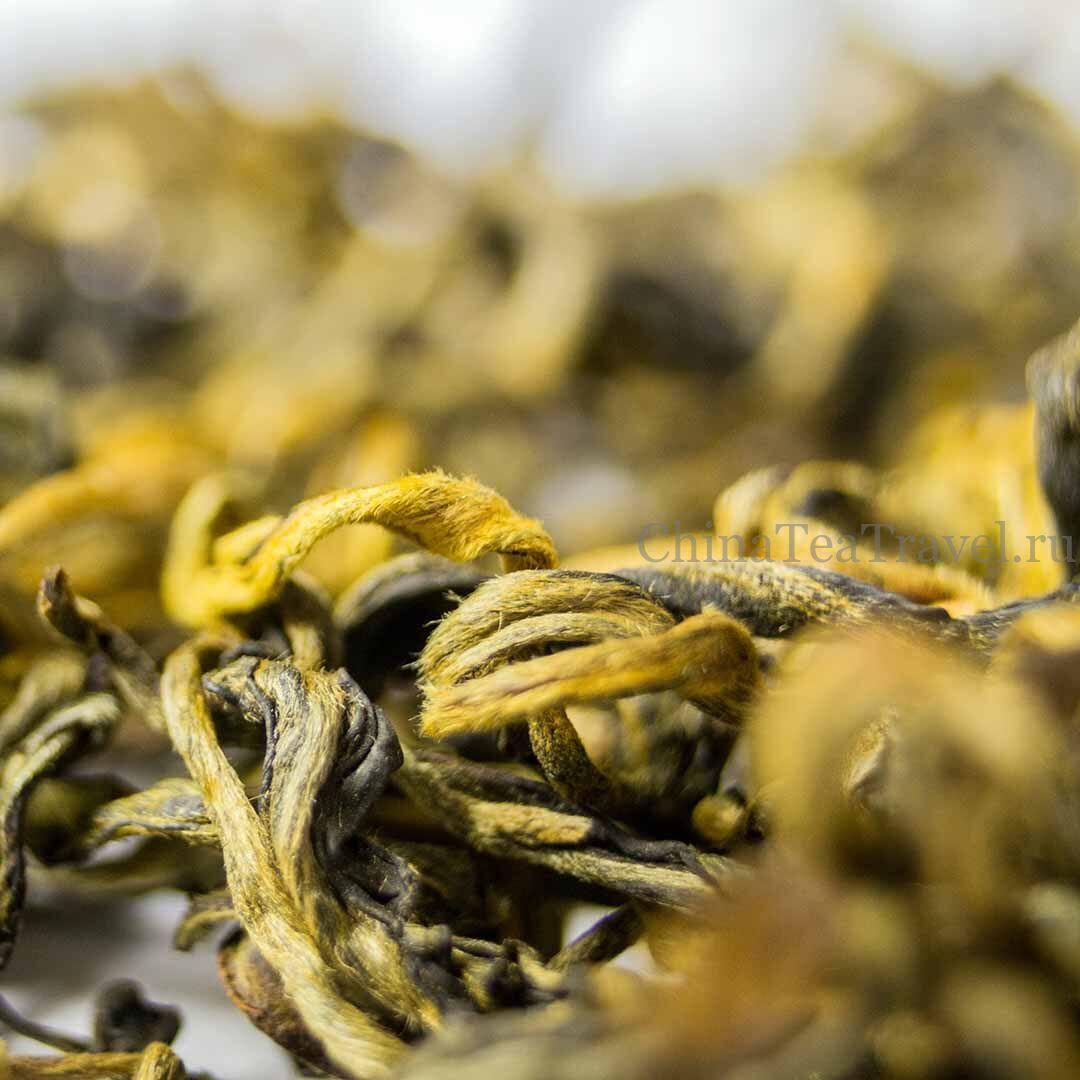 3 Красный чай «Малая народность» Ailao Tai Di Sai Hong Cha '19 Spr. Tea bushes 40-60 y.o.