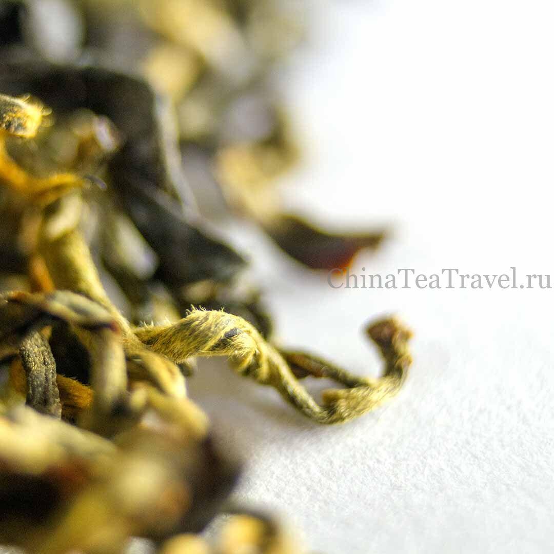 2 Красный чай «Малая народность» Ailao Tai Di Sai Hong Cha '19 Spr. Tea bushes 40-60 y.o.