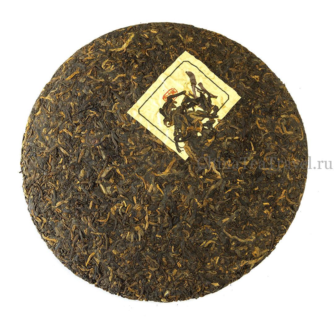 1 Шу пуэр из ИУ «Легенда ИУ» Yiwu Shu Puerh '05 Spr. Tea trees&bushes 100 y.o.