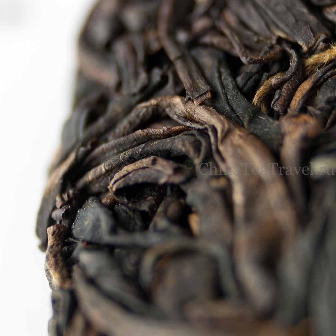 2 Красный чай из фиолетового сырья «Пурпурное сердце». Zi Juan Da Shu Sai Hong '19 Spr. Tea bushes 100 y.o.