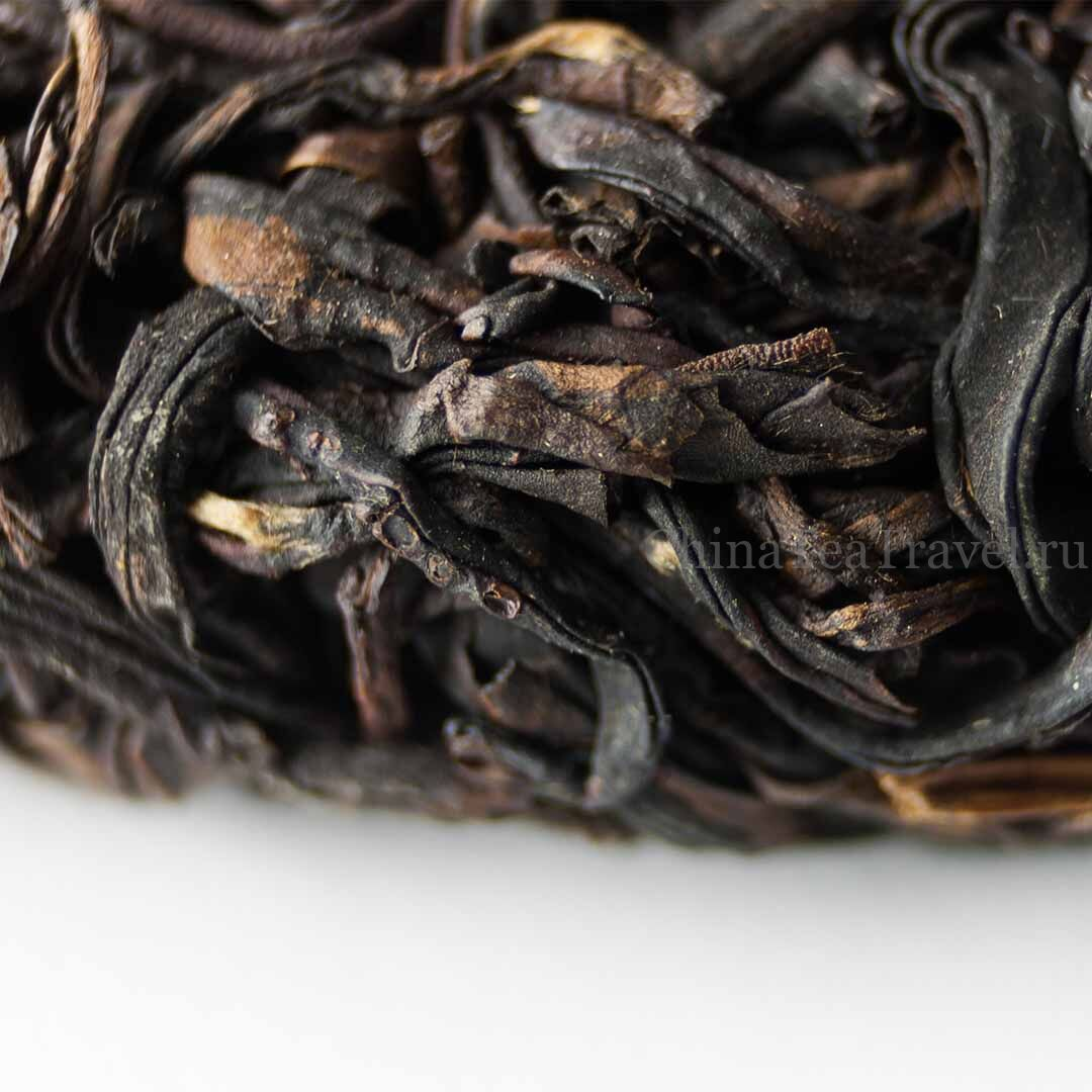 3 Красный чай из фиолетового сырья «Пурпурное сердце». Zi Juan Da Shu Sai Hong '19 Spr. Tea bushes 100 y.o.