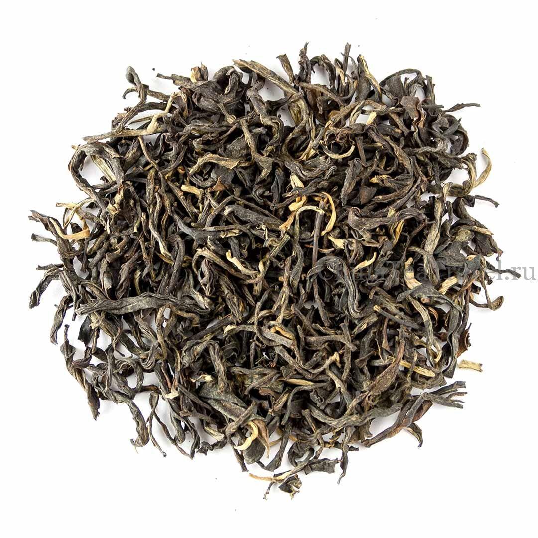 1 Красный чай общего сбора «Золото Уляни». Wulliangshan Gu Shu Hong Cha '19 Spr. Tea trees&bushes 120 y.o.