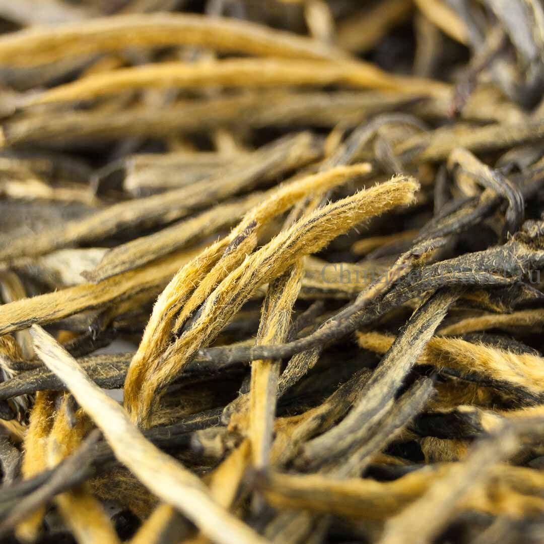 2 Красный чай «Сосновые иглы из Уляни». Wulliang Song Zhen Da Shu Hong Cha '19 Spr. Tea bushes 70-80 y.o.
