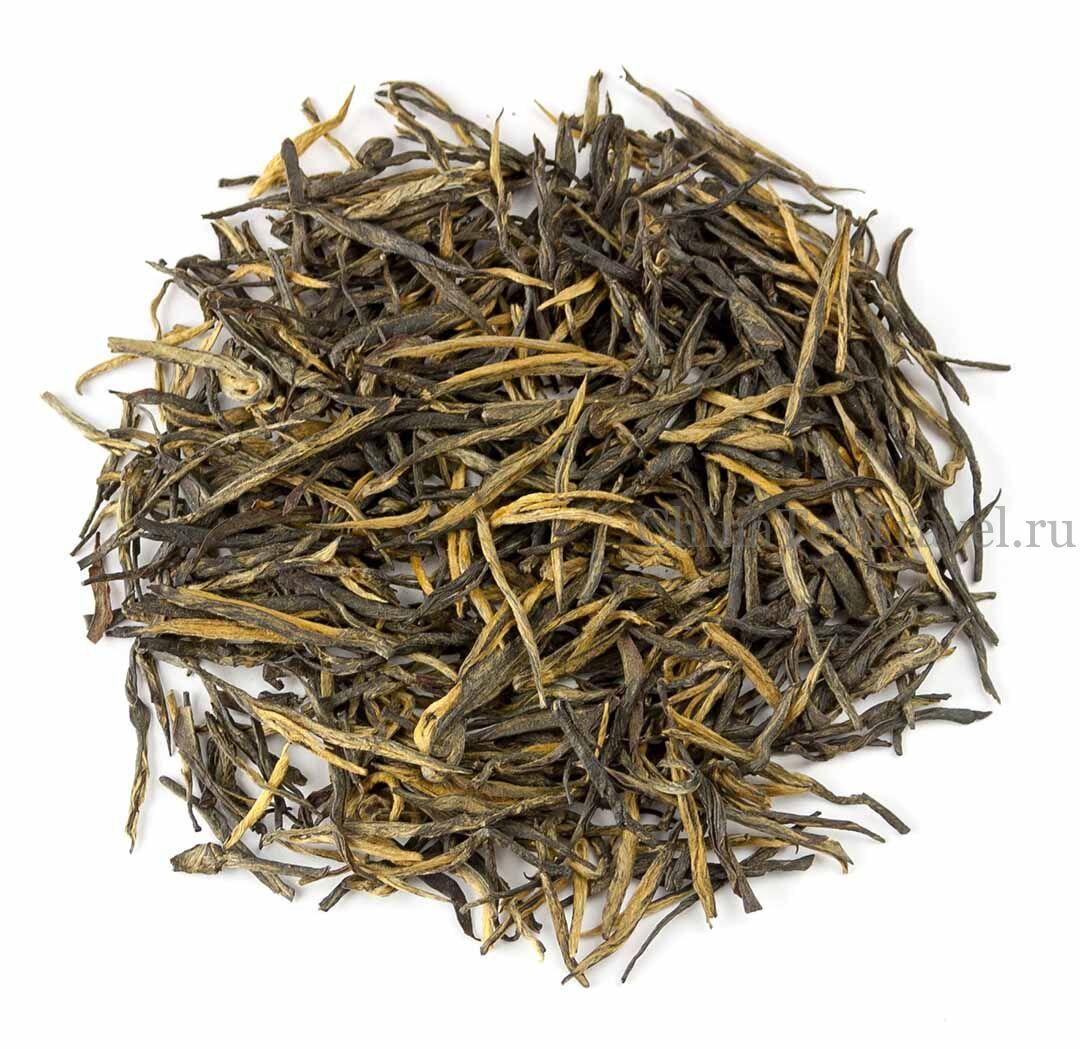 1 Красный чай «Сосновые иглы из Уляни». Wulliang Song Zhen Da Shu Hong Cha '19 Spr. Tea bushes 70-80 y.o.