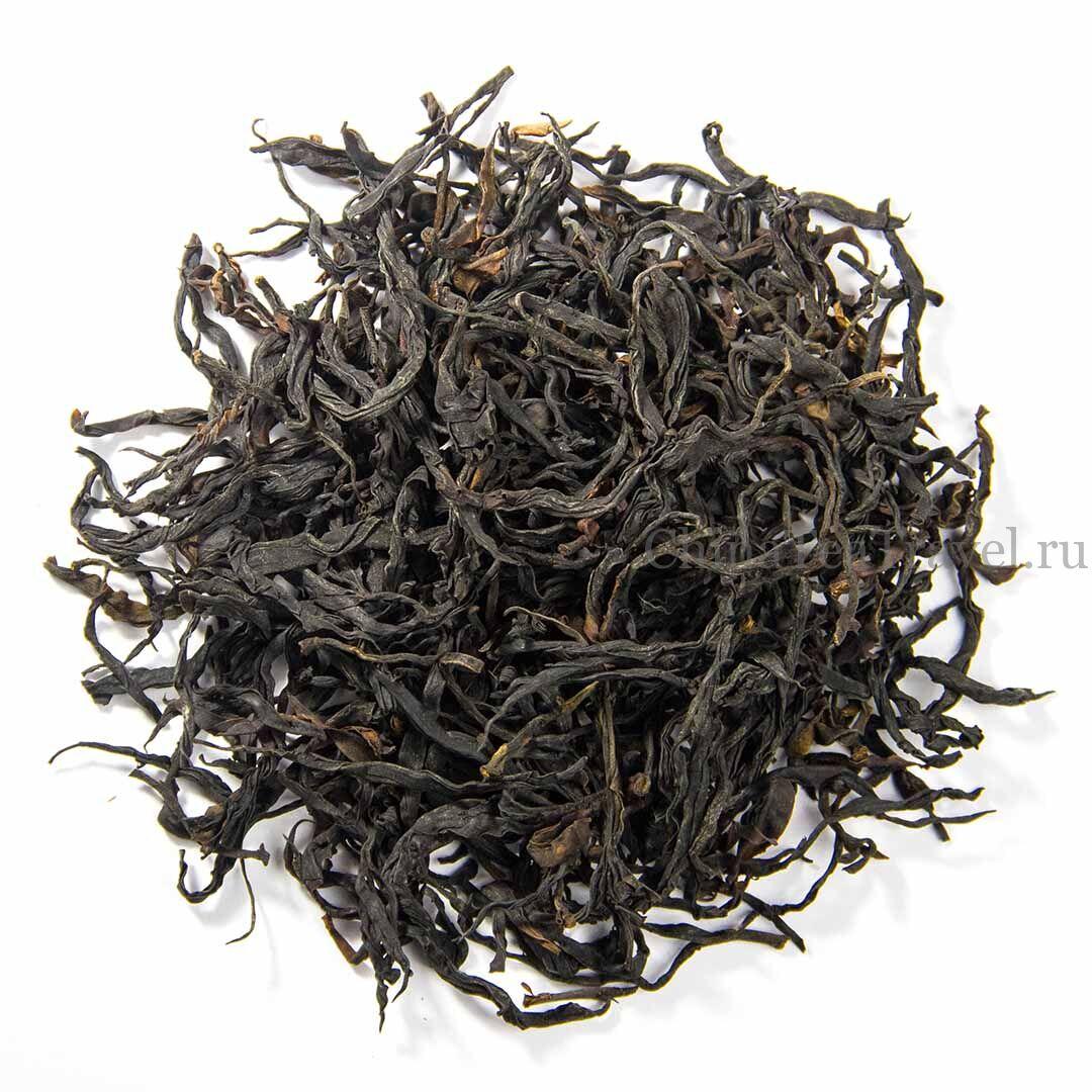 1 Красный дикий горький чай «Егерьмейстеръ» в россыпь. Ye Sheng Da Shu Sai Hong Ku Cha '19 Spr. Wild tea tree&bushes 100 y.o.