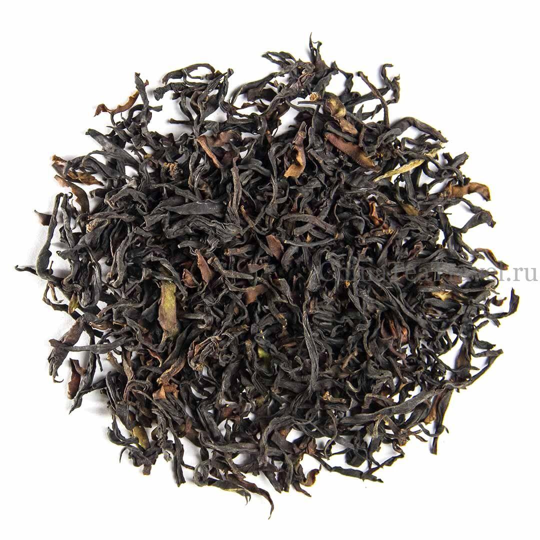 1 Красный дикий горький чай «Огненный егерь». Ye Sheng Da Shu Ku Hong Cha '19 Spr. Wild tea tree&bushes 100 y.o.