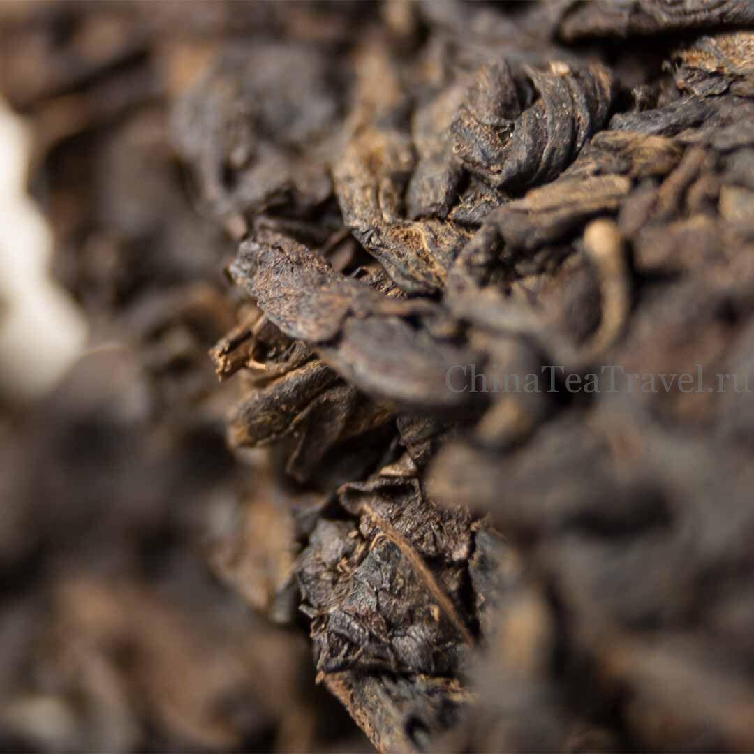 3 Шу пуэр со старых чайных кустов сада Ma Deng. Водуй в корзине. «Страна южнее облаков». Ma Deng Da Shu Shu Puerh '20 Spr. Tea bushes 100 y.o.