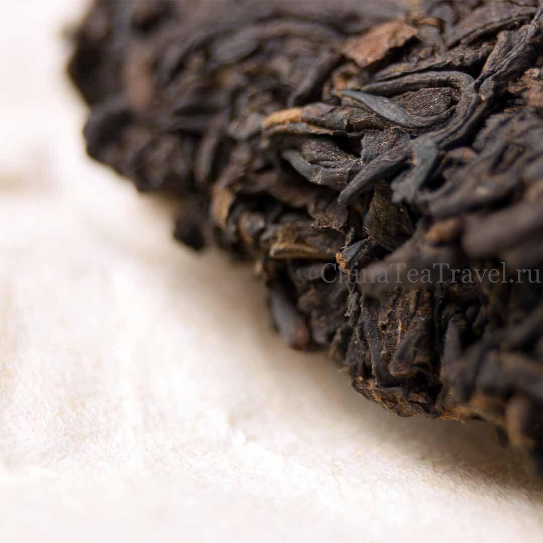 5 Шу пуэр со старых чайных кустов сада Ma Deng. Водуй в корзине. «Страна южнее облаков». Ma Deng Da Shu Shu Puerh '20 Spr. Tea bushes 100 y.o.
